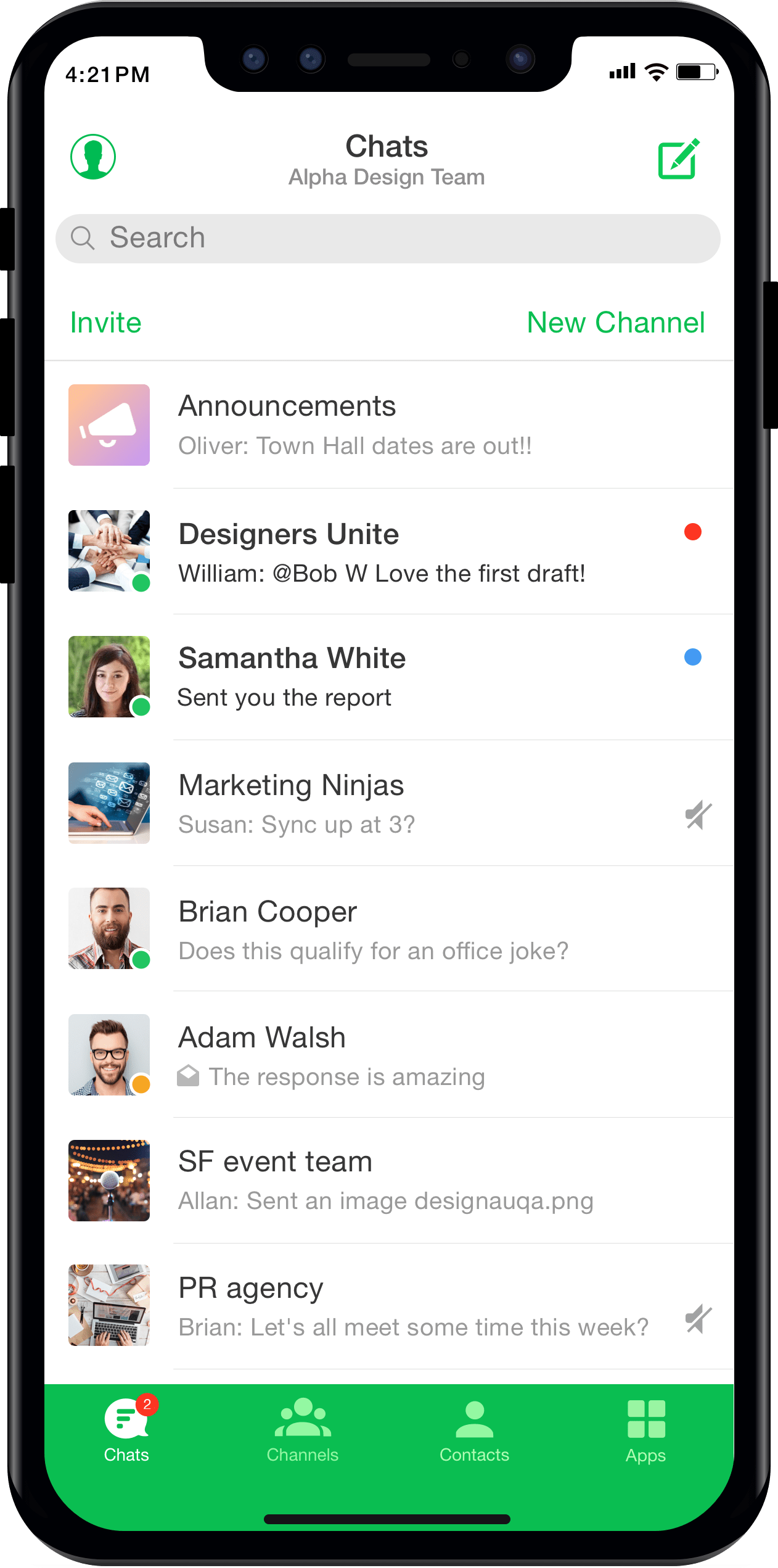 b24a3d3de317 Download the best enterprise team messaging app on iPhone