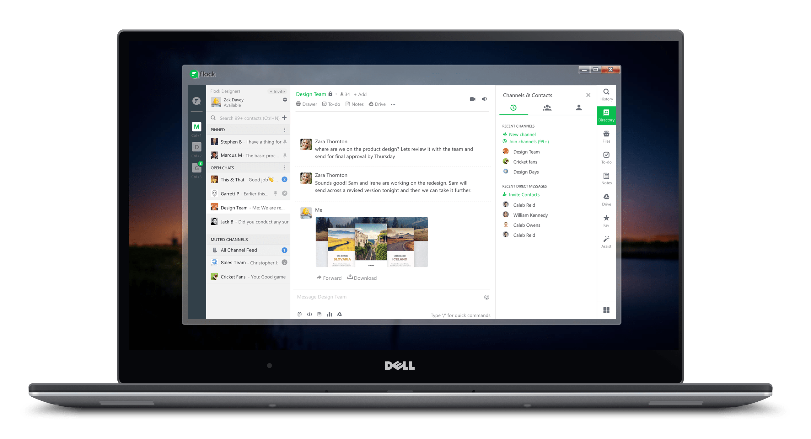 Download the best business teams communication app for windows