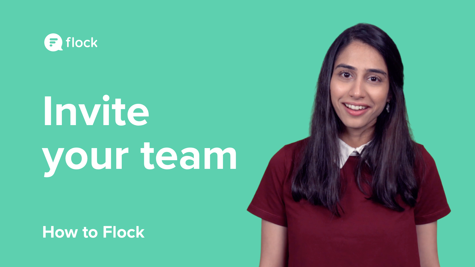 Invite your team to Flock Messenger